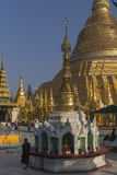 Shwedagon Pagoda in Yangon. Royalty Free Stock Photography