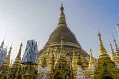 Shwedagon Pagoda in Yangon. Royalty Free Stock Images