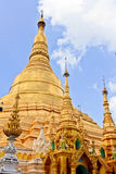 Shwedagon Pagoda. The Shwedagon Pagoda in Yangoon, Myanmar is one of the country`s premiere attractions. It is the said to be the country`s most revered shrines Stock Photography
