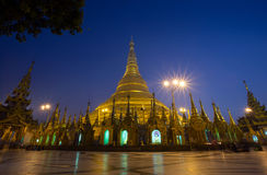 Shwedagon-Pagode Stockfotografie