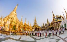 Shwedagon Pagode Lizenzfreie Stockfotos