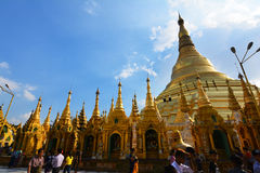 Shwedagon Pagode Lizenzfreie Stockfotografie