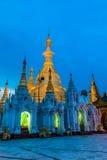 Shwedagon-Pagode auf Myanmar Lizenzfreie Stockbilder