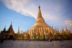 Shwedagon-Pagode, Birma Stockbild