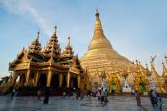 Shwedagon-Pagode, Birma Lizenzfreies Stockfoto