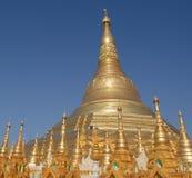 Shwedagon Pagode, Yangon, Myanmar Lizenzfreie Stockfotos