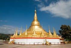 shwedagon pagodowy tachileik Fotografia Royalty Free