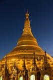 Shwedagon Pagodowy Yangon w Myanmar Fotografia Royalty Free