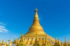 Shwedagon Pagodowy Yangon w Myanmar Fotografia Stock