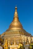 Shwedagon Pagodowy Yangon w Myanmar Zdjęcia Stock