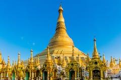 Shwedagon Pagodowy Yangon w Myanmar Zdjęcia Royalty Free