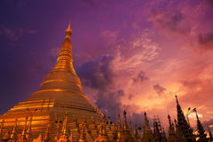 Shwedagon Paya 免版税图库摄影