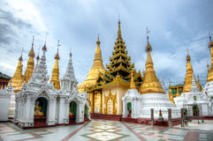 Shwedagon Paya Stockfotos