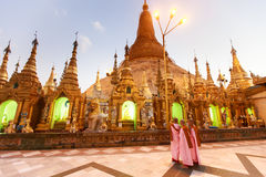 Shwedagon Paya Stock Photos