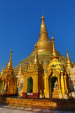 Shwedagon Paya pagoda in Myanmar Royalty Free Stock Photography