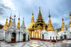 Shwedagon Paya. Shwedagon pagoda in Yangon, Myanmar Stock Photos