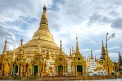 Shwedagon Paya. Shwedagon pagoda in Yangon, Myanmar Stock Images