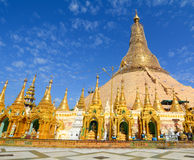 Shwedagon Paya Pagoda in Yangon Royalty Free Stock Images
