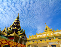 Shwedagon Paya Pagoda in Yangon Stock Photos
