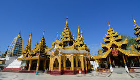 Shwedagon Paya Pagoda in Yangon Royalty Free Stock Image