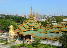 Shwedagon Paya Pagoda in Yangon Royalty Free Stock Photo