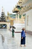 Shwedagon paya temple yangon myanmar Royalty Free Stock Image