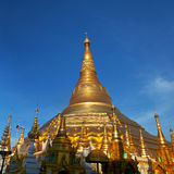 Shwedagon Paya in Yangon, Myanmar Royalty Free Stock Image