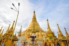 Shwedagon Paya in Yangon ,Myanmar Royalty Free Stock Photography