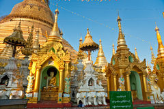 Shwedagon Paya, Yangoon, Stockfotografie