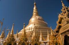 Shwedagon Paya, Yangoon. View of the Shwedagon Paya, Yangoon, Myanmar Stock Images