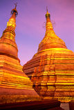 Shwedagon Paya, Yangoon. Stock Image