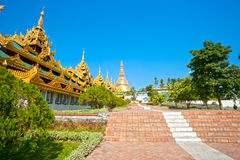 Shwedagon Paya, Yangoon, Myanmar. Stock Photos