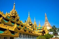 Shwedagon Paya, Yangoon, Myanmar. Royalty Free Stock Photos
