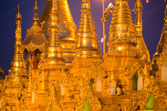 Shwedagon Paya, Yangoon, Myanmar. Royalty Free Stock Photos