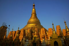 Shwedagon Paya, Yangoon, Myanmar (Burma) Royalty Free Stock Photo