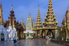 Shwedagon Temples - Yangon - Myanmar (Burma) Stock Photography