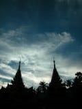 shwedagon yangon pagoda Стоковая Фотография RF