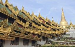 Shwedagonpagode Stock Afbeeldingen