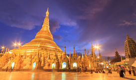Shwedogon pagoda Stock Photography