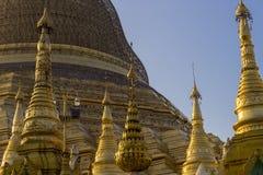 Shwedagon Pagoda in Yangon. Stock Images