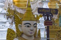 Shwedagon Pagoda in Yangon. Royalty Free Stock Photo