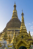 Shwedagon Pagoda in Yangon. Stock Photo