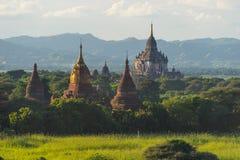 Shwegugyi tempelgränsmärke av Bagan den forntida staden, Mandalay, Myanm Arkivfoto