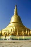 Shwemandaw塔, bago,缅甸 图库摄影