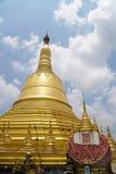 Shwemawdaw塔在仰光,缅甸 免版税图库摄影