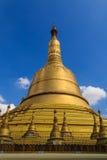 Shwemawdaw塔,在缅甸(Burmar)的Bago 免版税图库摄影