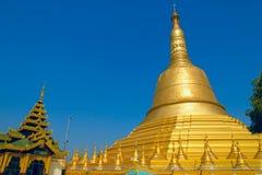 Shwemawdaw pagoda. Bago. Myanmar. Obrazy Stock