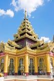 Shwemawdaw Paya, The Golden God Temple , Bago Myanmar Stock Photos