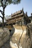 Shwenandaw Kyaung Monastery Stock Photography