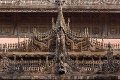 Shwenandaw Kyaung Temple Stock Image